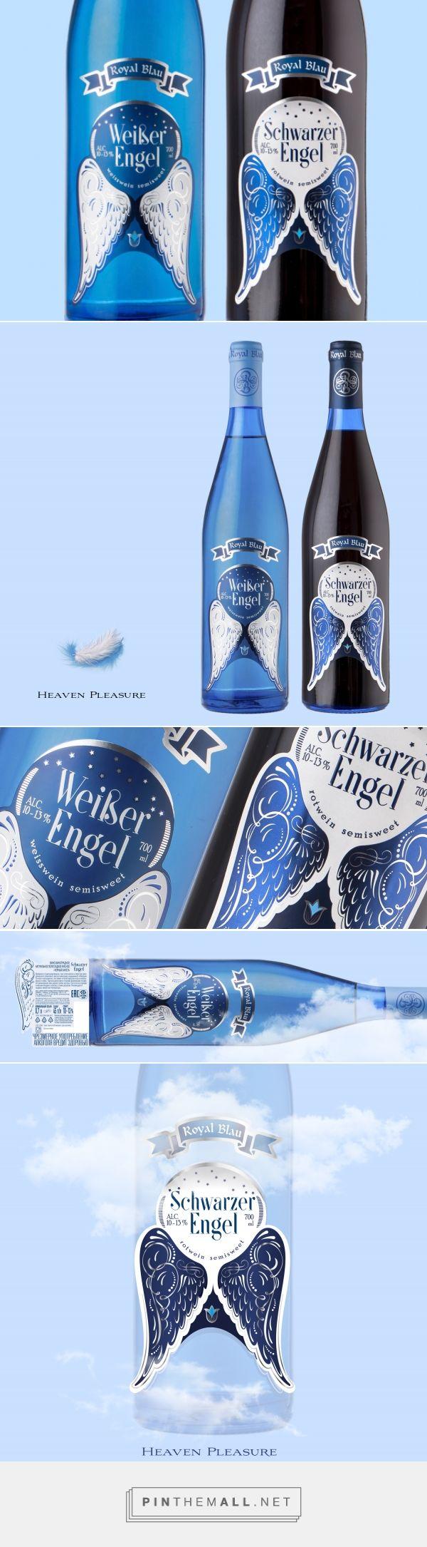 Royal Blau: Weiber Engel / Schwarzer Engel - Packaging of the World - Creative Package Design Gallery - http://www.packagingoftheworld.com/2018/01/royal-blau-weiber-engel-schwarzer-engel.html