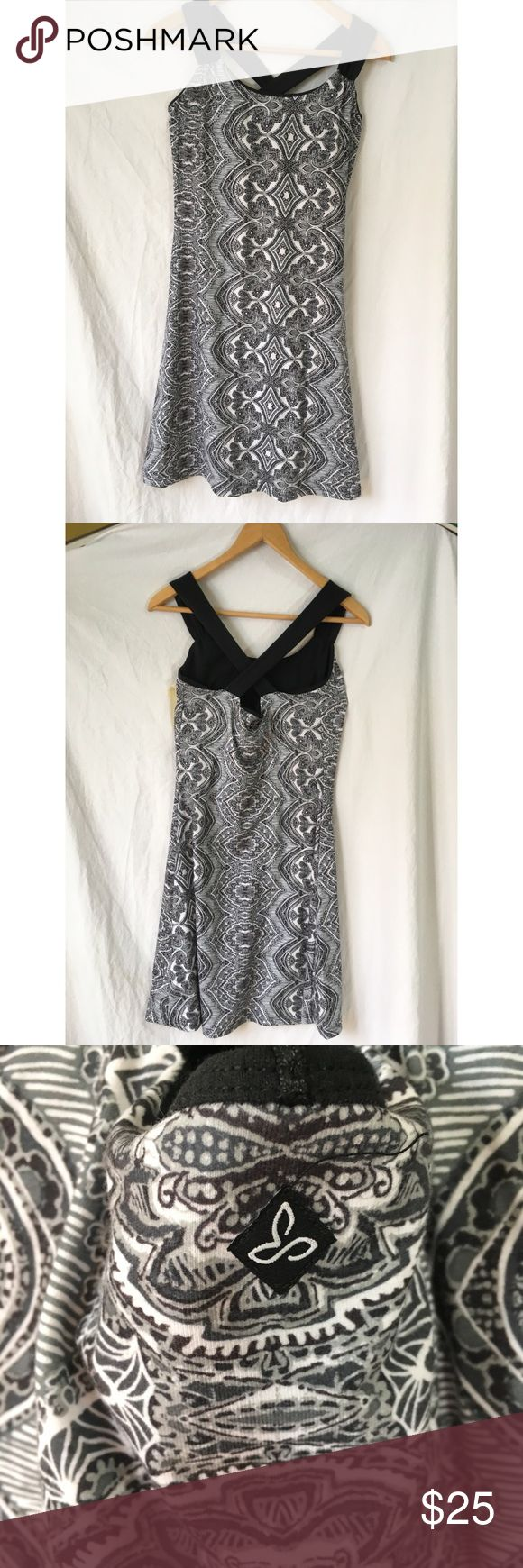 """Prana athletic dress with built in bra Excellent used condition. Hidden pocket on inside of dress. Bust 15.5"""" length 36"""" Prana Dresses Mini"""