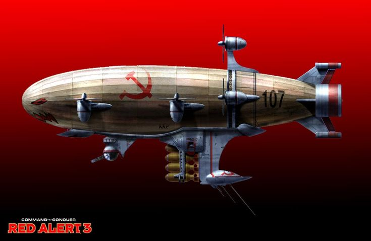 """cloggo: """" DIESELPUNK Now!!! Quote """"The unprecedented new Kirov Airship symbolizes the Soviet military's sheer size, strength, steadfastness and, some might say, its propensity for excess. Named for..."""