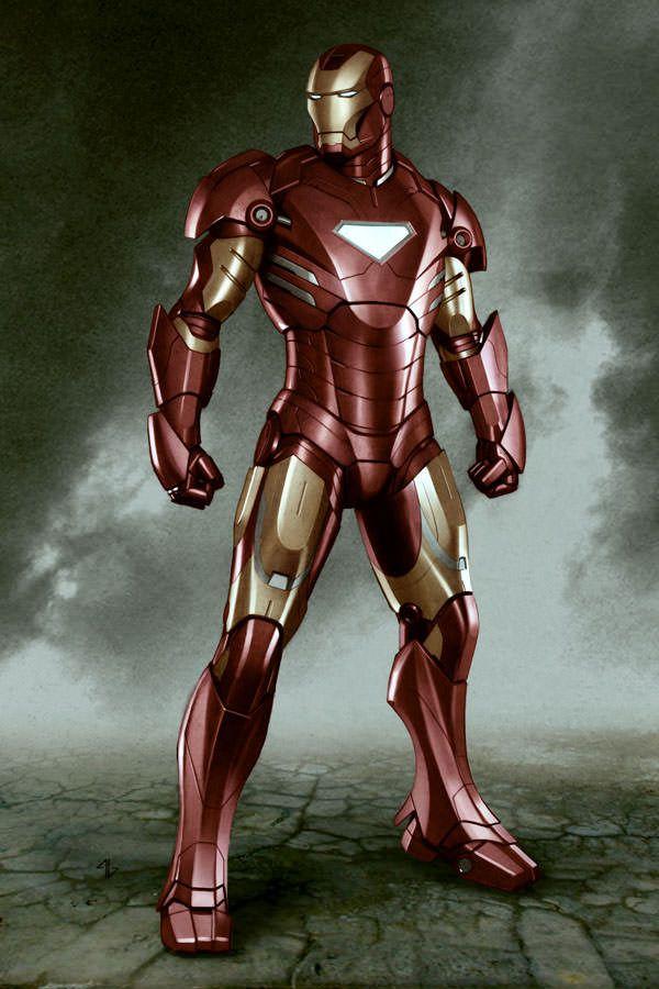 #Iron #Man #Fan #Art. (IMmk4 03 Concept Art) By: Adi Granov. (THE * 5 * STAR * AWARD * OF * ÅWESOMENESS!!!™)