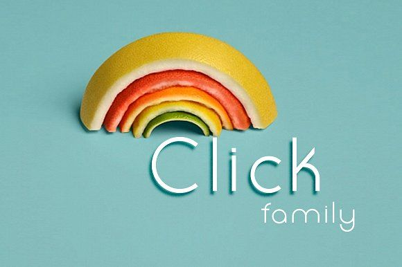 Click Family by Etewut on @creativemarket