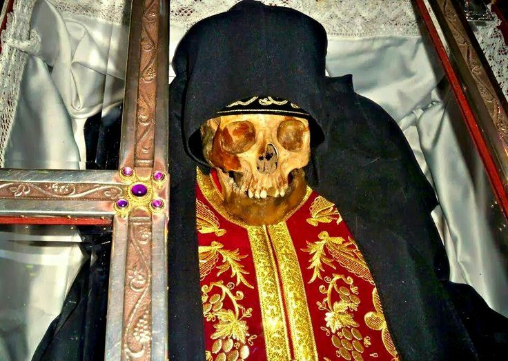 The relics of Saint Ephraim of Nea Makri were discovered through divine revelation in 1950. , 524 years after his death...
