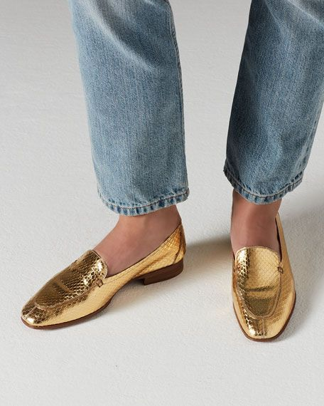 @TheRow classic #loafer #shoe with a twist - love the refined elongated toe