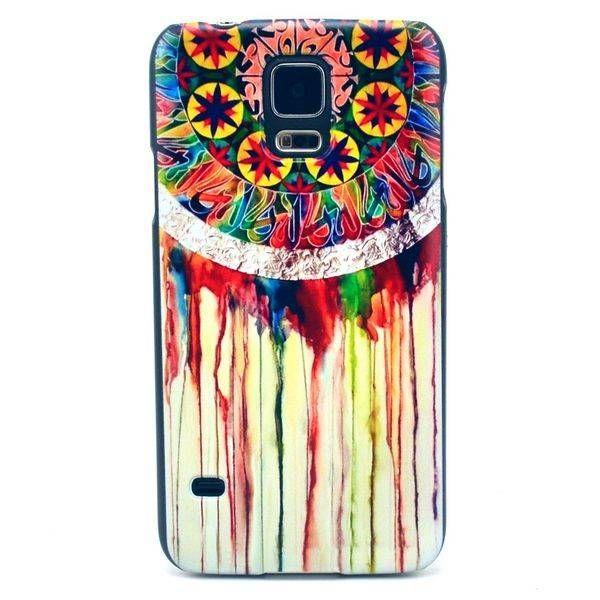 Waterverf dromenvanger hoesje voor Samsung Galaxy S5