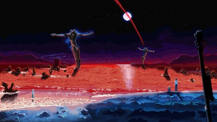 ngeevangelion Neon genesis evangelion, Dibujos de anime