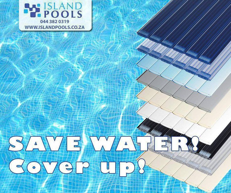 #DidYouKnow that covering your pool can decrease the chance of water evaporation by 95%. It can keep your pool warm, reducing the demands of using heaters. #TuesdayTip #IslandPools