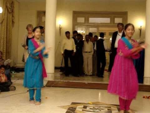 Dance By Swati Dash And Anisha Sahu On Feb 2009 Anjus Wedding