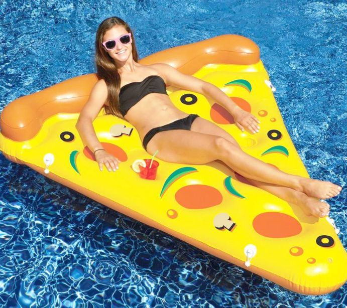 Pizza Pool Float . . That's amore.