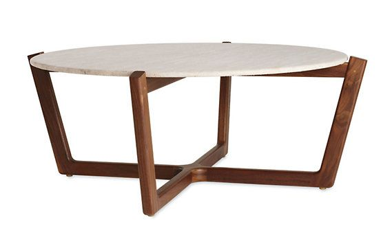 Brad Ascalon's Atlas Coffee Table (matching side tables available) - love it in travertine.
