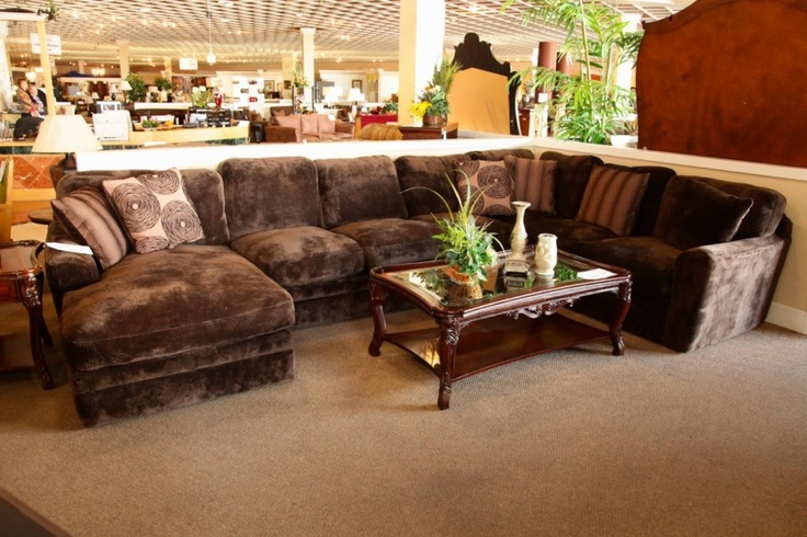 Fairmont Lynx Chocolate 3 Piece Sectional Colleen 39 S Classic Consignment Las Vegas Nv Www