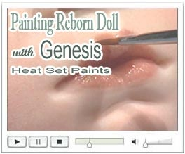Free Video how to paint a reborn doll