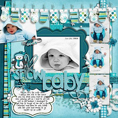 Snow Cute Layout