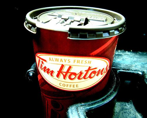 "Things We Wish Americans Knew About Us:  Tim Hortons ""Double-Double"". A ""Double-Double"" has become somewhat of a popular slang term for Canadians. It refers to a coffee with two teaspoons of sugar and two teaspoons of cream."