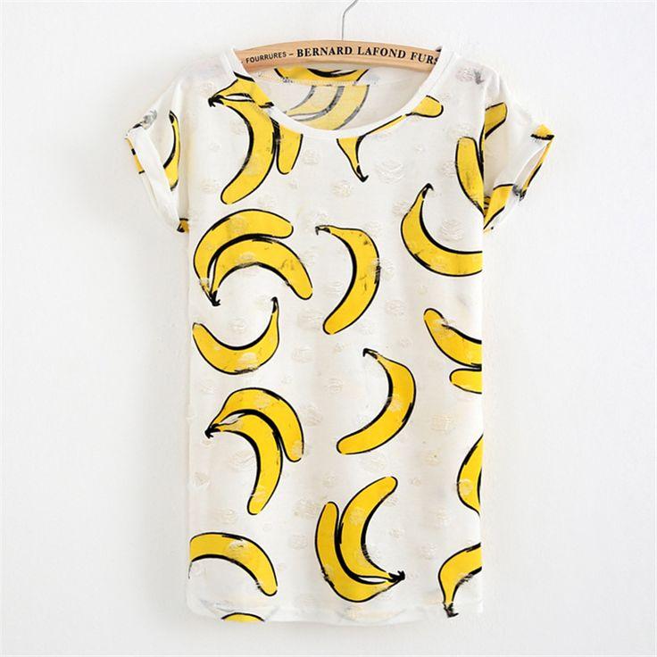Купить товарМикки бананы футболка женская летний стиль короткий рукав футболки женские инопланетянин футболка футболки женские модные 2016  в категории Футболкина AliExpress.             Супер нажмите вверх бюстгальтер для маленькой груди                           Этот Размер Европе