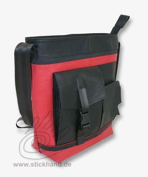 """Taschenmodell - """"Trendy"""" in 4 Größen aus LKW-Plane oder Lederimitat"""