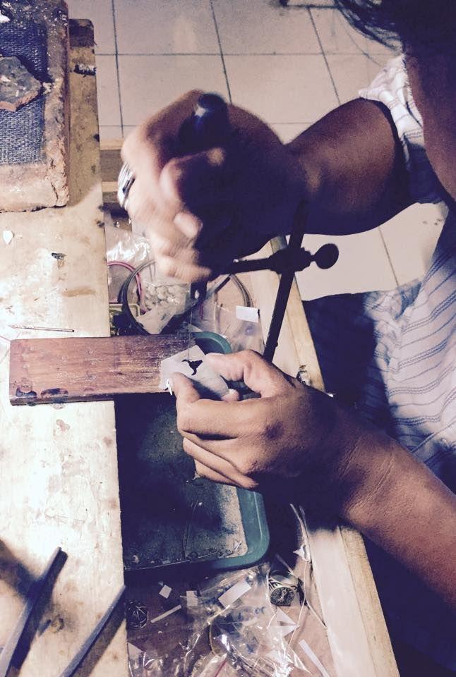 L'atelier d'argent - Etape 1 #lepetitcartel #launching #silver #veritable #faitmain #rareté #atelier #exception #worldwide