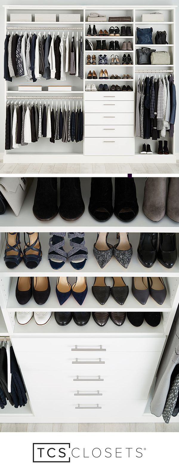 EVERYTHING YOU'VE EVER DREAMED OF IN A CLOSET | With so many closet options, you can customize to your heart's content.