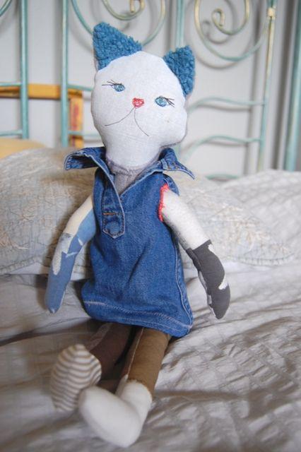 handmade Cat for Hanna
