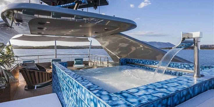 Take your promotional code here and get $1.5m discount. This awesome yacht is back on the market for $19.5 million