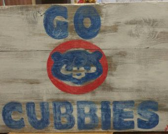 Chicago Cubs Flag Chicago Cubs Banner Chicago by AmericanFlagShop