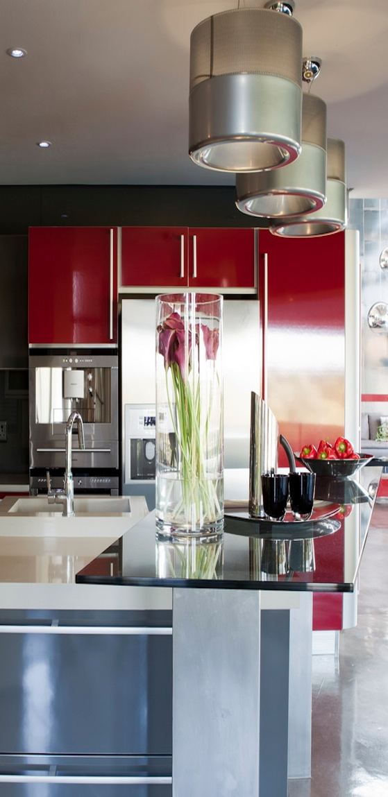 Best 152 Best Images About Red Kitchens On Pinterest Modern 400 x 300