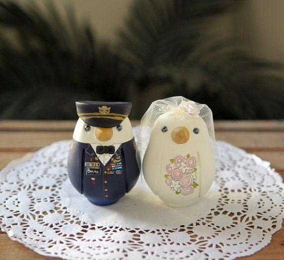 Military Cake Topper   Wedding Love Birds