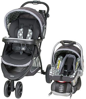 Baby Trend Tri Flex Travel System Catalina Ice