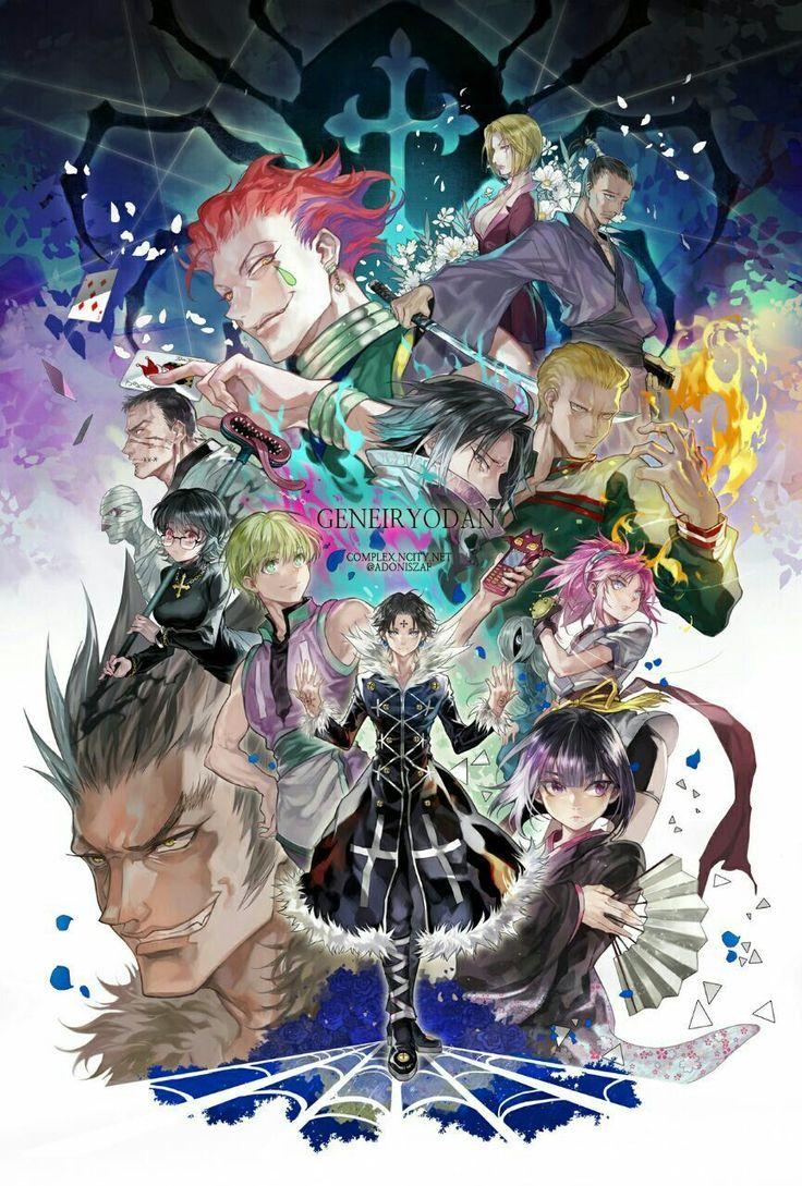 Faith cross sticker hunter anime hunter x hunter
