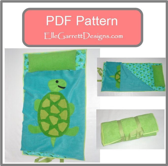 PDF Pattern Turtle Nap Mat Pattern by ellegarrettdesigns on Etsy, $5.00