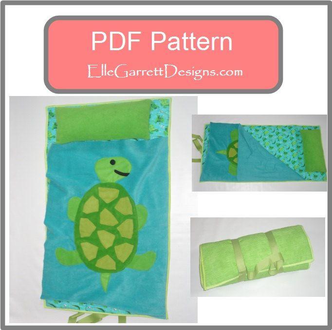 PDF Pattern  Turtle Nap Mat Pattern by ellegarrettdesigns on Etsy, $5.00
