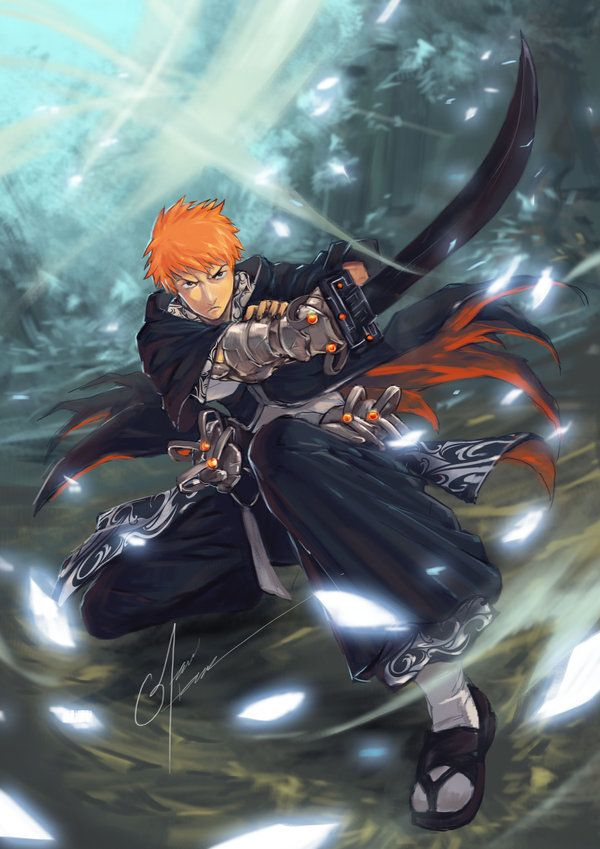 "Bleach: Ichigo by *bayanghitam  USE CODE ""PIN5"" TO RECEIVE 5% OFF Shop now at www.animecart.com"