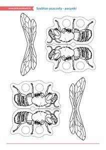 Dzień Pszczół – pakiet edukacyjny (pacynka na palce)