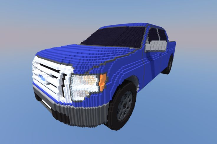 how to make a cool sports car in minecraft
