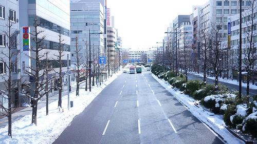 Japan, Niigata, East Big Street