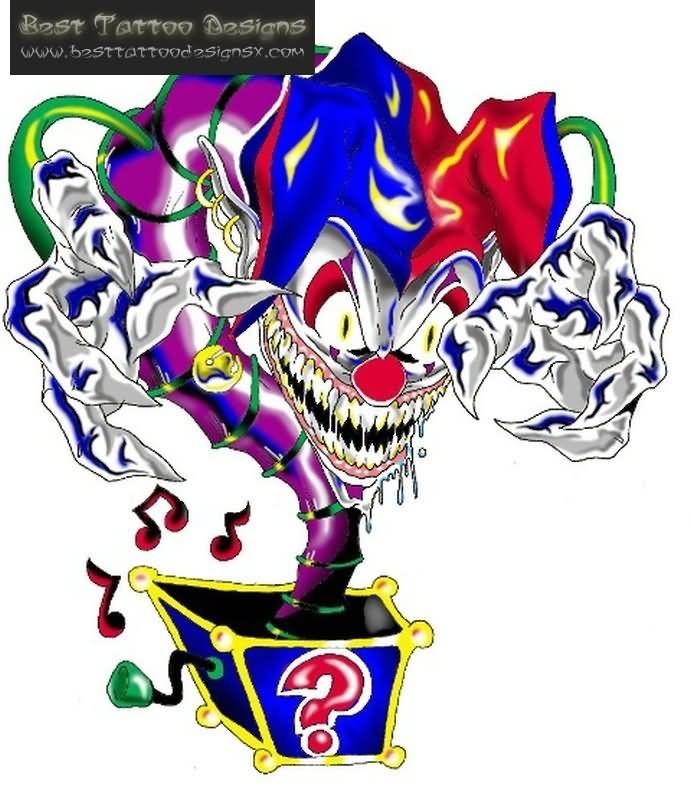 Tattoo Ideas Jester: Best 25+ Clown Tattoo Ideas On Pinterest