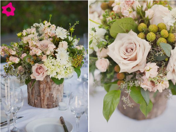 centro de mesa casamento de madeira - Pesquisa Google