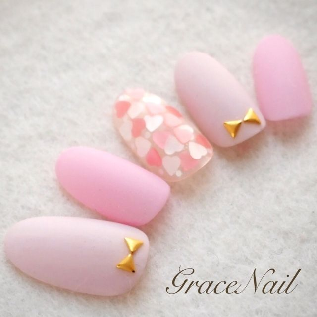 Nice Valentine's Day nails