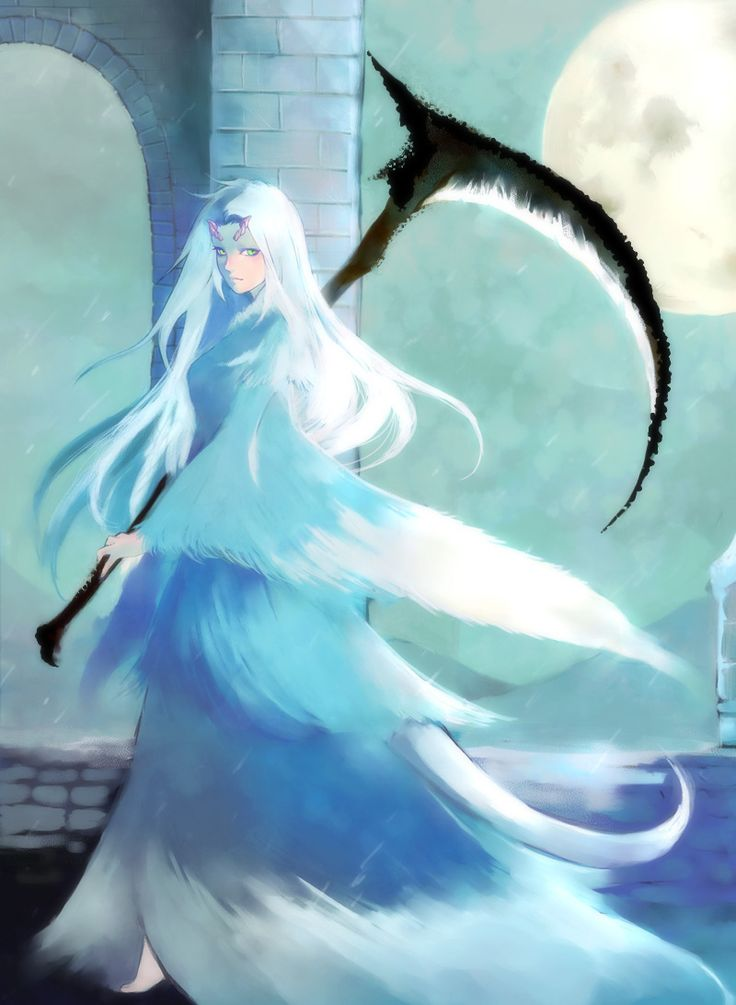 Crossbreed Priscilla may be related to Seath the Scaleless, judging from her tail and horns.