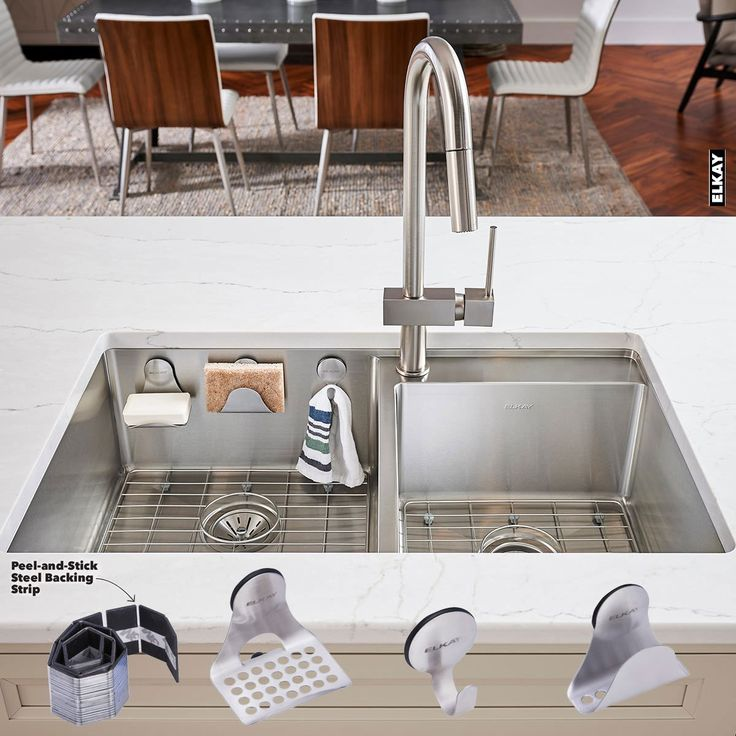 Elkay Sink Mate - Clever stylish sink accessories