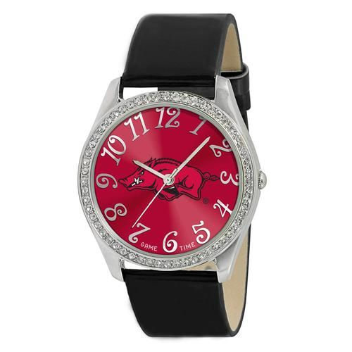 Arkansas Razorback Ladies Designer Diamond Watch