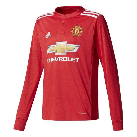 Man Utd Home Kit 2017/18 LS
