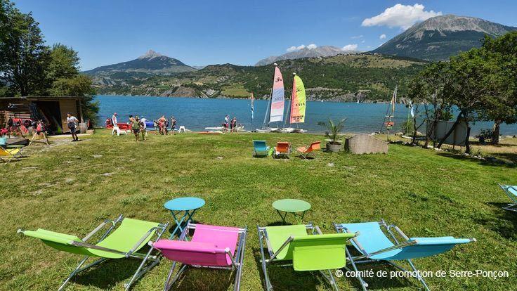 Serre-Ponçon l'été, destination détente Entre lac et montagne! http://www.serreponcon-tourisme.com/