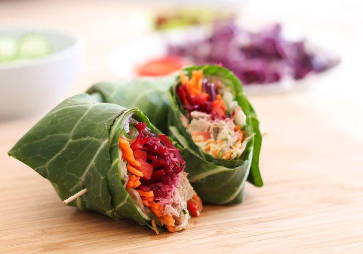 Esta receta es un bocadillo, pero su envoltura es más saludable, ya que es vegetal : Wrap de verduras con salsa pesto, delicioso, rápido y súper saludable!