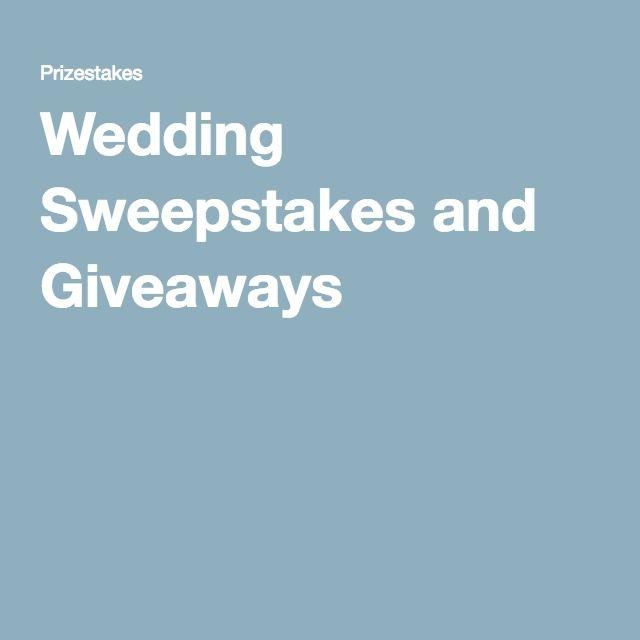 Wedding Sweepstakes and Giveaways
