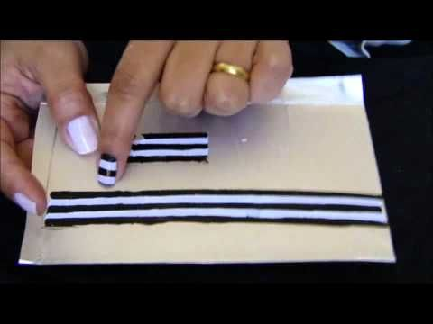 ▶ Bumblebee Water Marble Nail Art Tutorial (Water Marble March #8) - YouTube