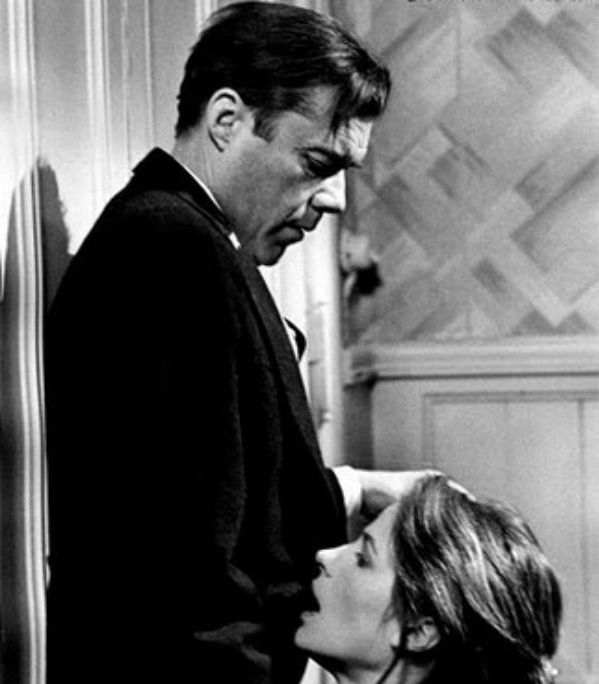 The Night Porter - Dirk Bogarde and Charlotte Rampling - directed by Liliana Cavani - 1974