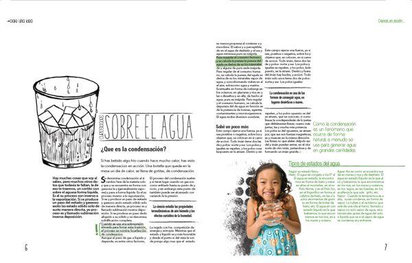 Editorial 3 · Revista Ciencia para niños · UBA by Antonella Barres, via Behance