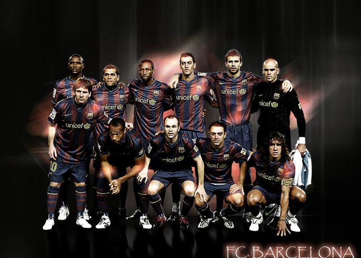 FC Barcelona Players Wallpaper