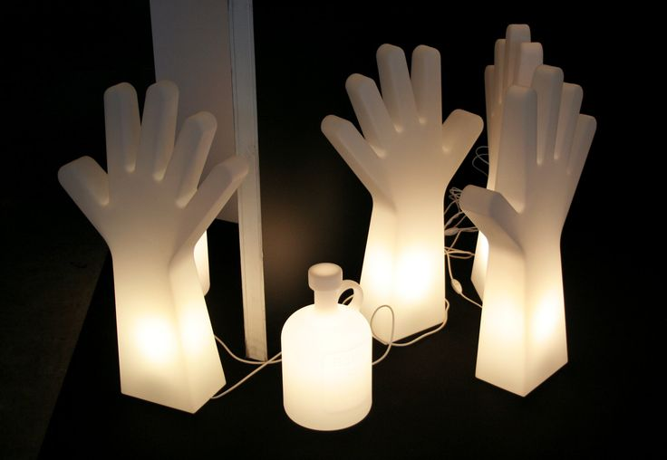 Habitare 2013. Eero Aarnio, Hello and Bottle of Light