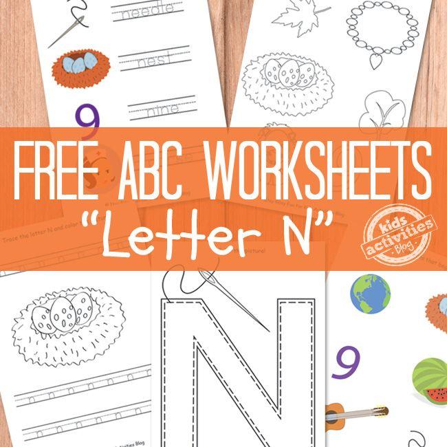 love n learn preschool letter n worksheets free printable the alphabet 903